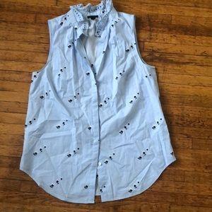 Ann Taylor size small blouse. Blue.